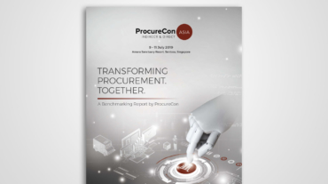 ProcureCon Asia 2019 Benchmarking Report