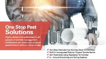 PestBusters A4 Print ad